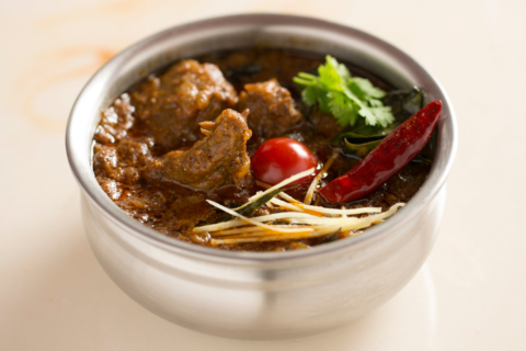 Mutton Varutha Curry